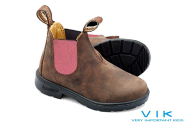 JR PELLE RUSTIC BROWN ELASTICO PINK