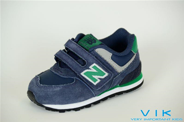 NEW BALANCE 574 BABY PELLE E SUEDE
